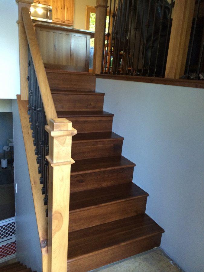 ... Residential Interior Finishing Job / Woodworking | Woodridge Interiors  ...